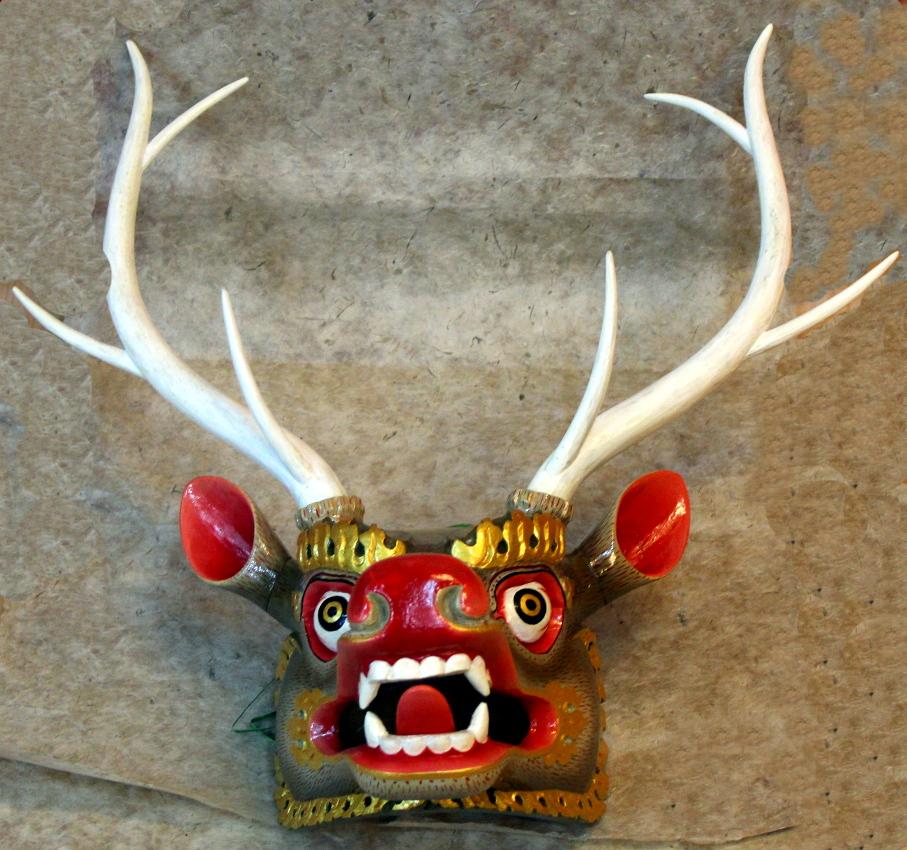 Sangay arts and craftsreindeer mask sangay arts and crafts for Jamaican arts and crafts for sale